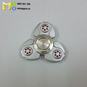 Hand Spinner UFO hợp kim màu bạc