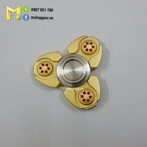 Hand Spinner UFO hợp kim màu vàng